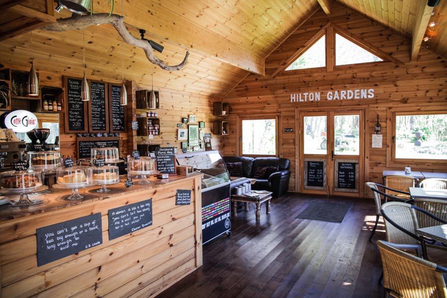 Woodland Cafe - Hilton Court Gardens
